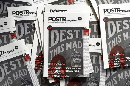 O Say Can You See POSTRmagazine 16?